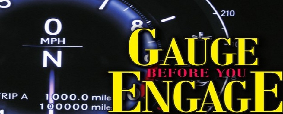 Gauge Before You Engage